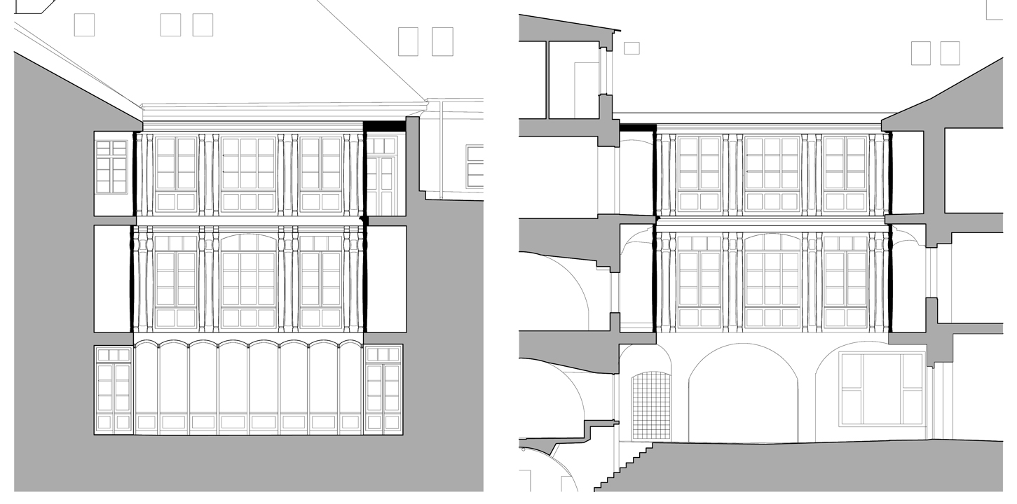 Balconies enclosure, sections 1 and 2