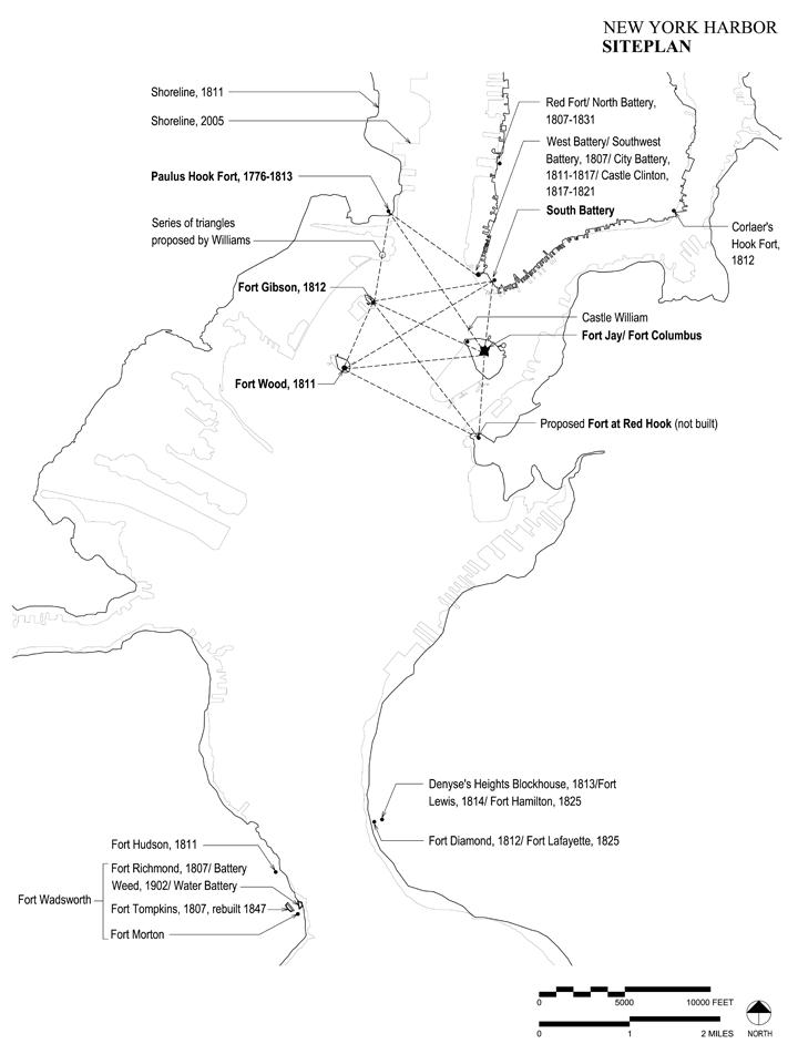 w New York Harbor MAP 2005