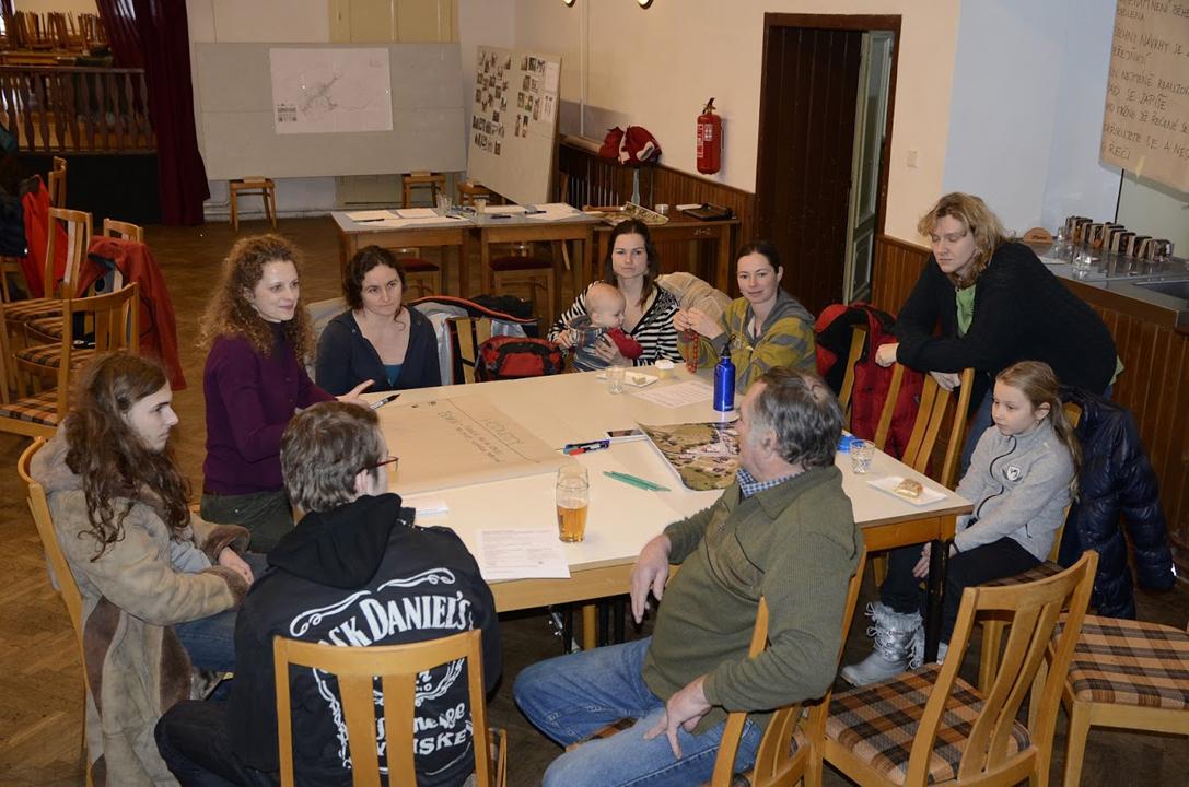 Public participation, group work